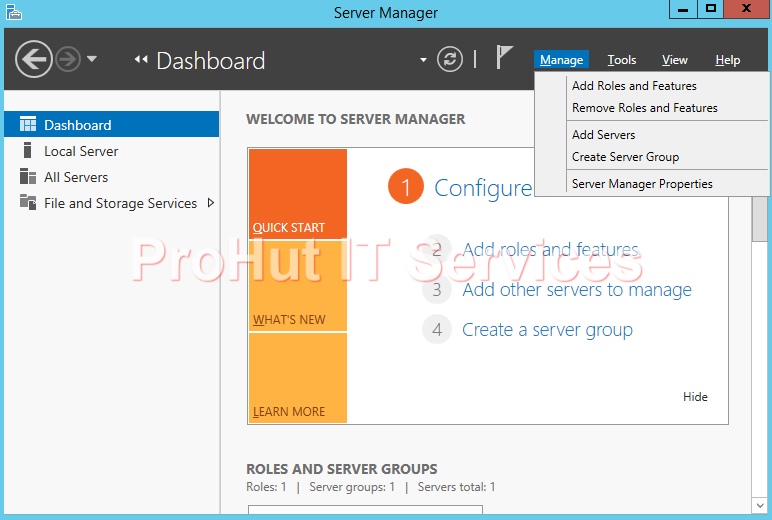 how to add a domain controller in windows server 2012